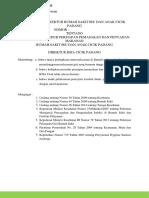 kebijakan prosedur persiapan pemasakan dan penyajian makanan, dan pengambilan sampel makanan secara rutin.docx