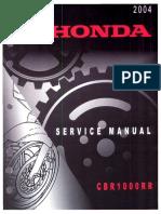 Manual de Reparatie Honda CBR 1000 RR