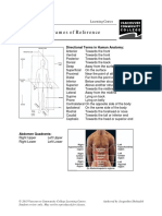 Anatomical Frames of Reference