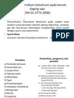 Analisis Clostridium Botulinum ( Ref SNI 01 3775 2006)