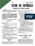 DM 76.99 Taxas DUAT