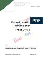 Manual de Utilizare MySMIS2014 FrontOffice