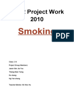 Smoking Report