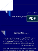 DataMine & NPV Scheduler(Www.mineweb.ir)