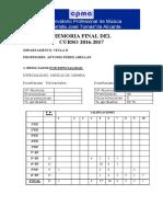 Memoria Final 2016-2017 Antonio Perez Abellan