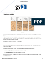 Weathering and Soil _ Geology In