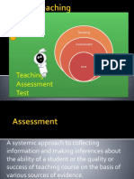 Teaching Assessment