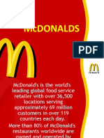 Global Iconic Brand - McDonalds Pankaj