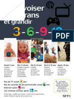 Enfants et écrans, la règle 3-6-9-12