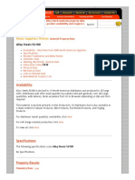52100 Alloy Steels Material Property Data Sheet - Product availability and request a quote.pdf