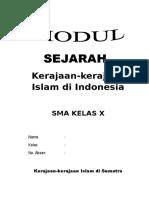 Modul Kerajaan Islam