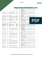 Global List of Providers Xlsx