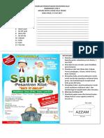 Formulir Pendaftaran Pesantren Kilat