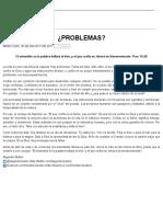 Ministério Bullón Problemas 30 ago 2017