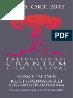 Uranium Film Festival Berlin 2017 Programm