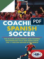 2013 - Coaching Spanish Soccer