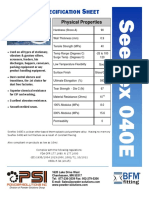 Seeflex 040E Spec Sheet