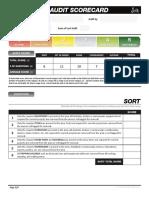 Css-5s Audit Scorecard