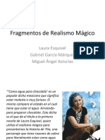 Fragmentos de Realismo Mágico