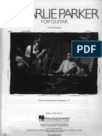 Charlie Parker for Guitar