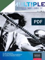 Programme du Lieu multiple de septembre 2017