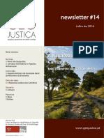 Newsletter 14 Natureza Dos Caminhos