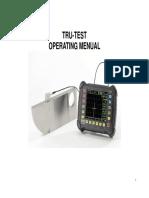 Operation System Euipo Ultrasonic Calibration