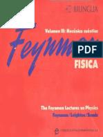 Volumen III Mecánica Cuántica - Feymman (Bilingüe)