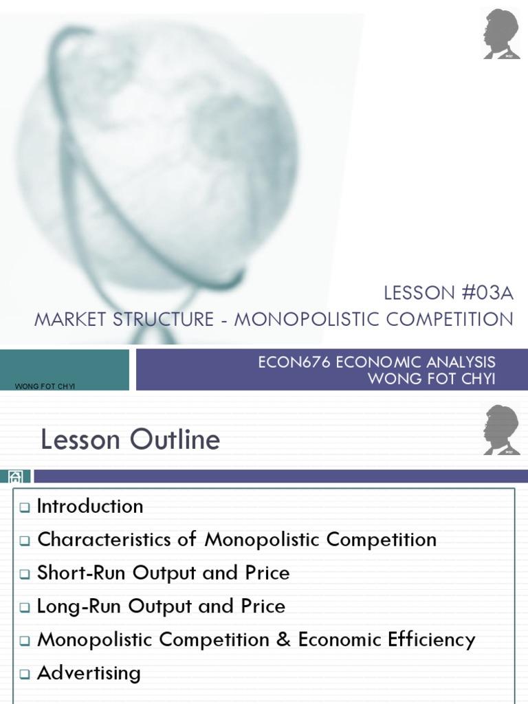 Lesson 03A Market Structure