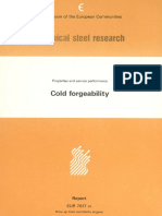 Cold Forgeability