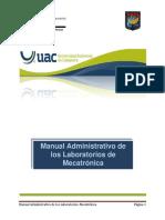 Manual Adm Los Los Labs de Mecatronica