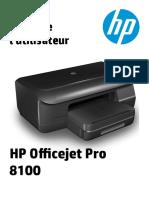 HP8100 notice