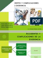 CIRUGIA BUCALexodonciaexpoaccidentesycomplicaciones