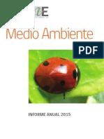 Informe Medio Ambiente2015