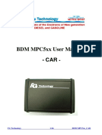 Fgtech Bdm Mpc5xx User Manual Car