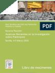 Avances Recientes en La Investigación Sobre Patrimonio