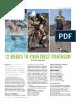 12 Weeks To Your 1st Triathlon