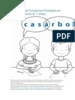 Cómo Trabajar Conciencia Fonológica en Primeros Lectores Ver Si Es Igual