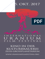 Uranium Film Festival Programm Berlin 2017