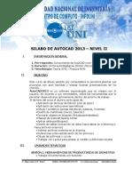2 Silabo de Autocad Intermedio 2014