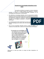 Impotancia y aplicación de la tecnologias educativas en las aulas.docx