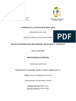 Programa Introduccion a La Historia Antigua 2014