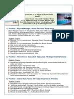 Job Vacancies at Kuredu Island-HR Recruitment Specialist083017
