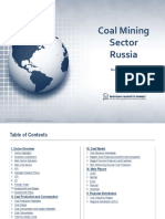 Russia Coal Mining Sector Report