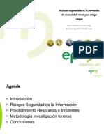 Acciones empresariales en la prevención de criminalidad virtual para mitigar riesgos (07282010)
