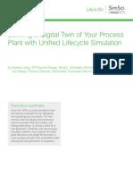 WhitePaper SE LIO SimSci UnifiedLifecycleSimulation 05 17