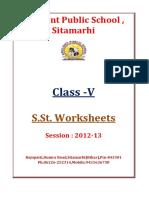 V S.st.-Worksheets Session 2012 2013
