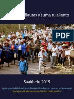 Saakhelu 2015 Guia Para Construcción de Flautas