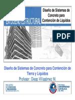Diseño de Concreto Para Contención de Líquidos