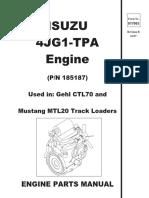 4jg1 Tpa Engine Parts Manual Dmax Engine Manual